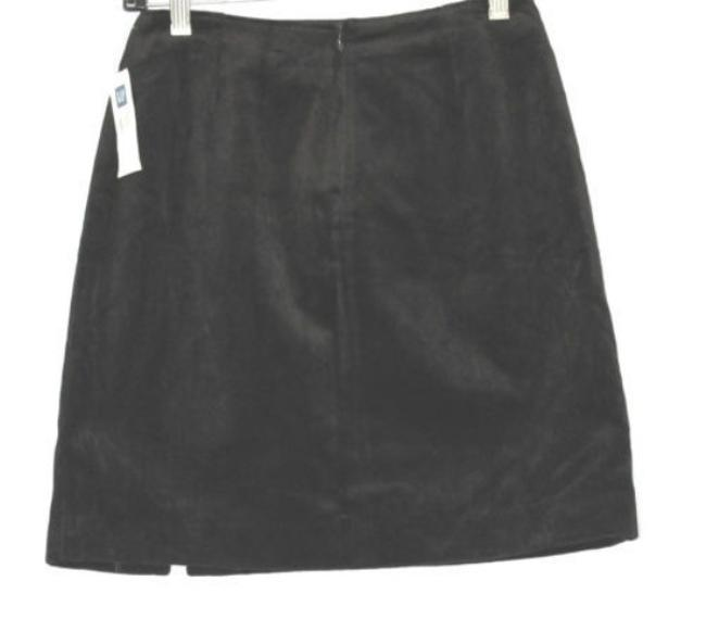 Gap Velvet Skirt BLACK