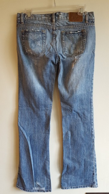 Roxy Size 3 Boot Cut Jeans-Distressed