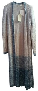 Anthropologie Duster Ombre Knit Neutral Cardigan