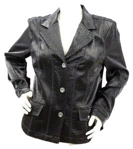 Tribal Shimmery Jacket BLACK Blazer