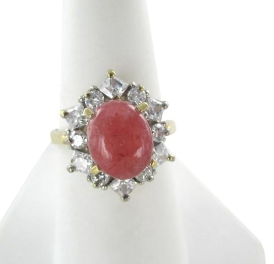 Preload https://item4.tradesy.com/images/gold-14k-yellow-59-grams-rhodochrosite-and-white-stones-9-engagement-ring-1058908-0-0.jpg?width=440&height=440
