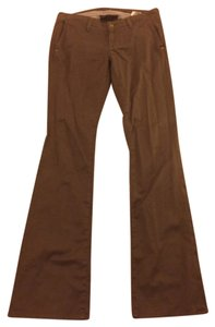 7 For All Mankind Boot Cut Pants Chocolate Brown