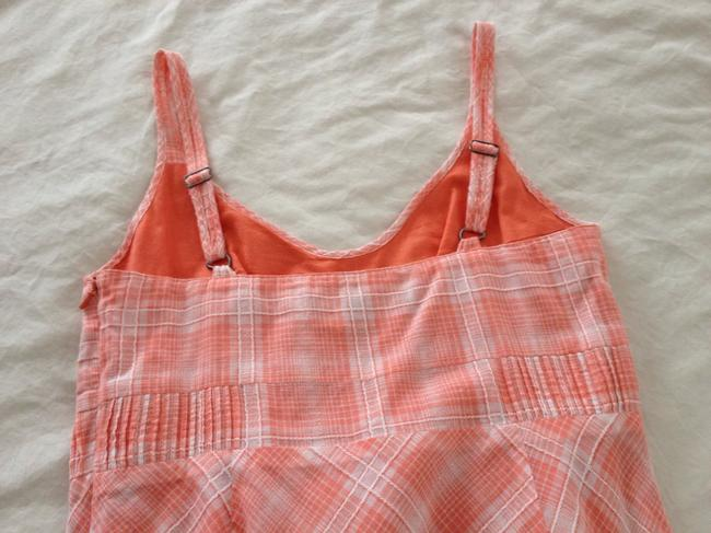 Other short dress Tangerine and White on Tradesy