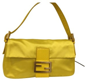 Fendi Satin Evening Baguette