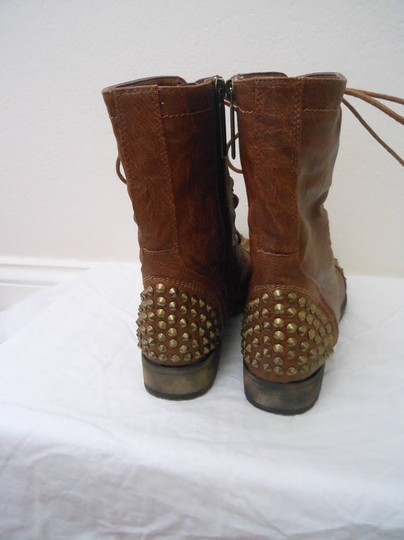 Shiekh Studded Brown Boots