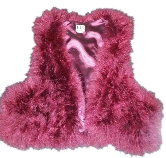 Preload https://item4.tradesy.com/images/haute-hippie-red-maroon-feather-so-cute-vest-size-10-m-10590418-0-1.jpg?width=400&height=650