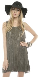 Parker Sequin Fringe Dress