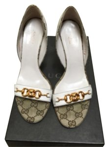 Gucci White/cream Pumps