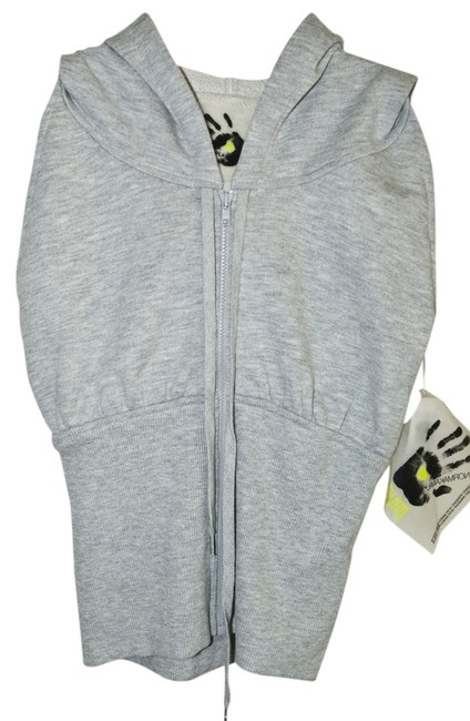 Preload https://img-static.tradesy.com/item/1059113/norma-kamali-heather-grey-sleeveless-hoodie-xs-everlast-activewear-top-size-0-xs-25-0-0-650-650.jpg