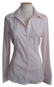 QUINTESSENTIAL Blouse Button Down Shirt Pink