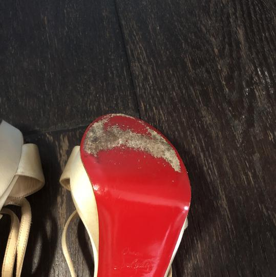 Christian Louboutin champagne Sandals