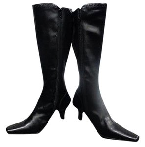 2cff2ab8309 Black Liz Claiborne Boots   Booties - Up to 90% off at Tradesy