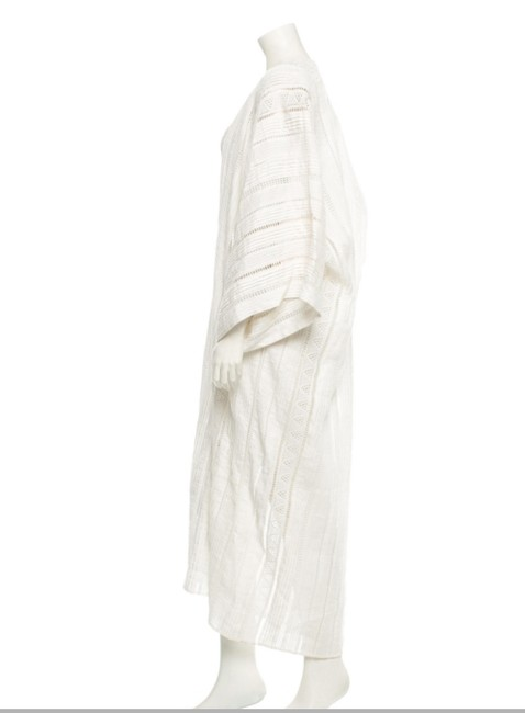 Oscar de la Renta short dress white Beach Kaftan Eyelet Beach Tunic on Tradesy