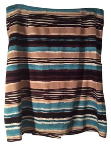 Talbots Silk/wool Skirt Multicolor