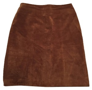 Bedford Fair Mini Skirt Tan