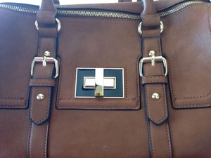 Express Satchel in Brown