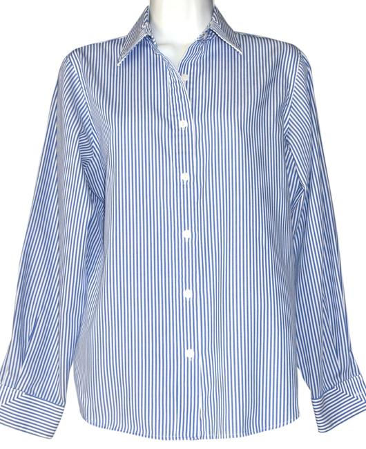 Preload https://img-static.tradesy.com/item/10593220/foxcroft-blue-and-white-wrinkle-free-striped-button-down-top-size-4-s-0-1-650-650.jpg