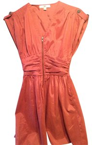 Ya Los Angeles short dress Burnt Orange on Tradesy