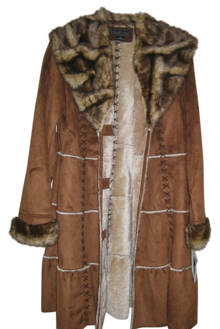 Regent Park Fake Fur Shearling Machine Washable Coat