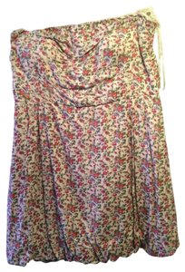Myth short dress Floral on Tradesy