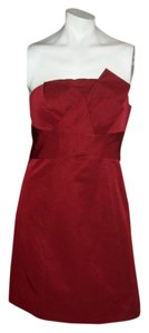 The Limited Burgundy Night Out Formal Dress