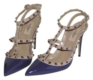 Valentino Purple Patent Pumps