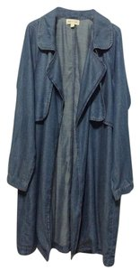 Anthropologie Boiled Wool Moth New Sweater Trench Coat