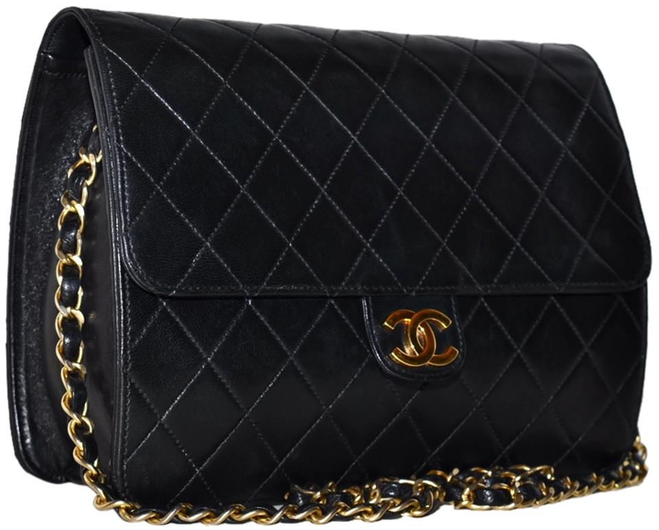 58e81af3f546 Chanel Clutch Paris Quilted Lambskin 8.65