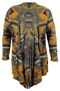 INC International Concepts Draped Cotton Cardigan