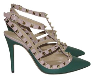 Valentino Dark Green Pumps