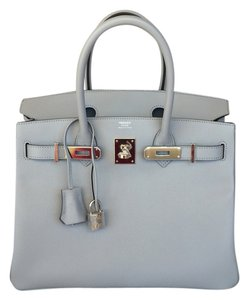 Hermès New100 Kelly Prunoir Black Clemence Gold Hardware Tote in BLUE GLACIER