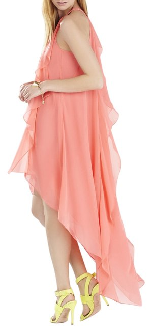 Preload https://item4.tradesy.com/images/bcbgmaxazria-pink-coral-iqi66d43-sleeveless-high-low-casual-maxi-dress-size-8-m-10594213-0-1.jpg?width=400&height=650