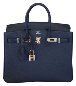Hermès New100 Hermes Hardware Birkin Tote in BLUE NUIT