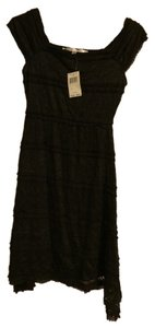 Max Studio short dress black Mini Lace Nwt on Tradesy