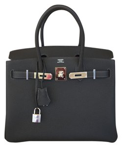 Hermès New100 Hermes Kelly Prunoir Tote in MACASSAR DARK BROWN