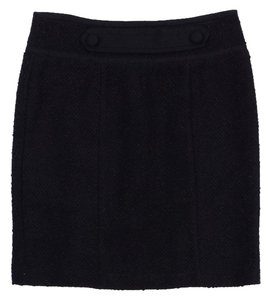 Nannette Lepore Brown Textured Suit Skirt