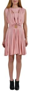 Just Cavalli short dress Light Pink on Tradesy