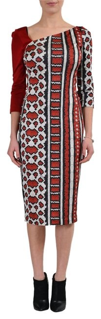 Preload https://item4.tradesy.com/images/just-cavalli-multi-color-34-sleeves-women-s-bodycon-s-it-40-mid-length-short-casual-dress-size-4-s-10595488-0-1.jpg?width=400&height=650