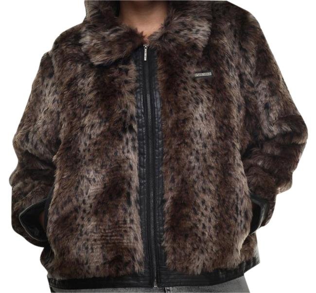 Preload https://img-static.tradesy.com/item/10595728/rocawear-leopard-fur-coat-size-20-plus-1x-0-3-650-650.jpg