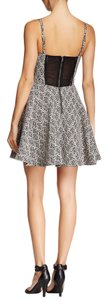 Sam Edelman short dress BLACK AND WHITE Party Festive Textured on Tradesy