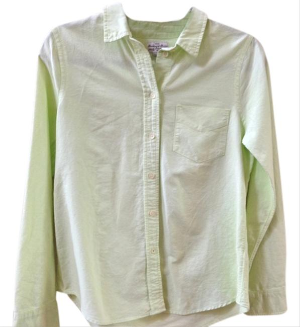 Madewell Button Down Shirt Green