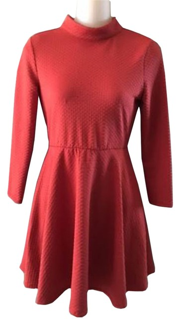 Preload https://item5.tradesy.com/images/free-people-coral-women-s-empire-waist-with-cut-out-back-short-casual-dress-size-8-m-10596499-0-1.jpg?width=400&height=650