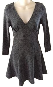 Free People short dress Charcoal/Black Cut Out Back on Tradesy