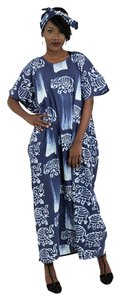 Blue Maxi Dress by Utopia Africa Designs