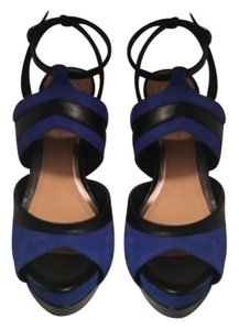 Jessica Simpson Black/Blue Platforms