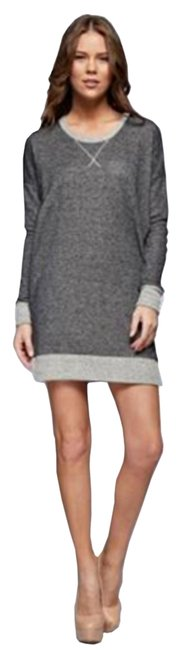 Preload https://item5.tradesy.com/images/light-grey-women-s-tunic-suede-elbow-patch-small-large-short-casual-dress-size-4-s-10597369-0-1.jpg?width=400&height=650
