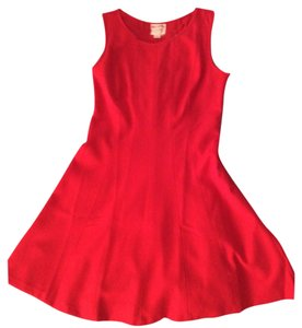 Ann Taylor LOFT short dress Red on Tradesy
