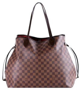 Louis Vuitton Neverfull N51106 Lv Tote in Brown