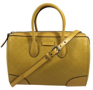 Gucci Satchel in Mustard Yellow