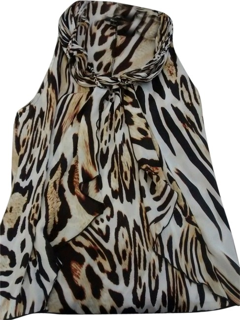 Preload https://img-static.tradesy.com/item/10599235/animal-print-milano-exotic-with-brown-and-white-blouse-size-4-s-0-1-650-650.jpg